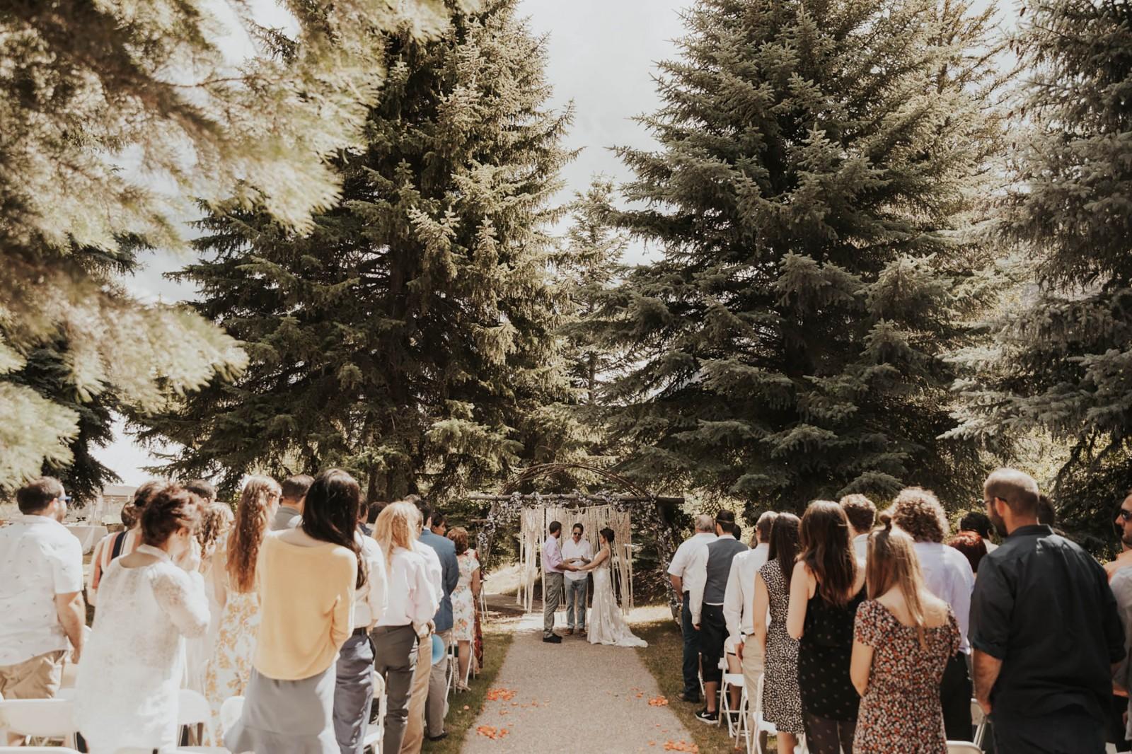 Wedding Ceremony, Redstone Inn, Colorado