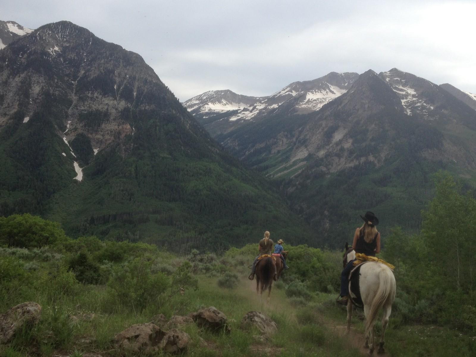 Horseback Riding, Redstone, Colorado