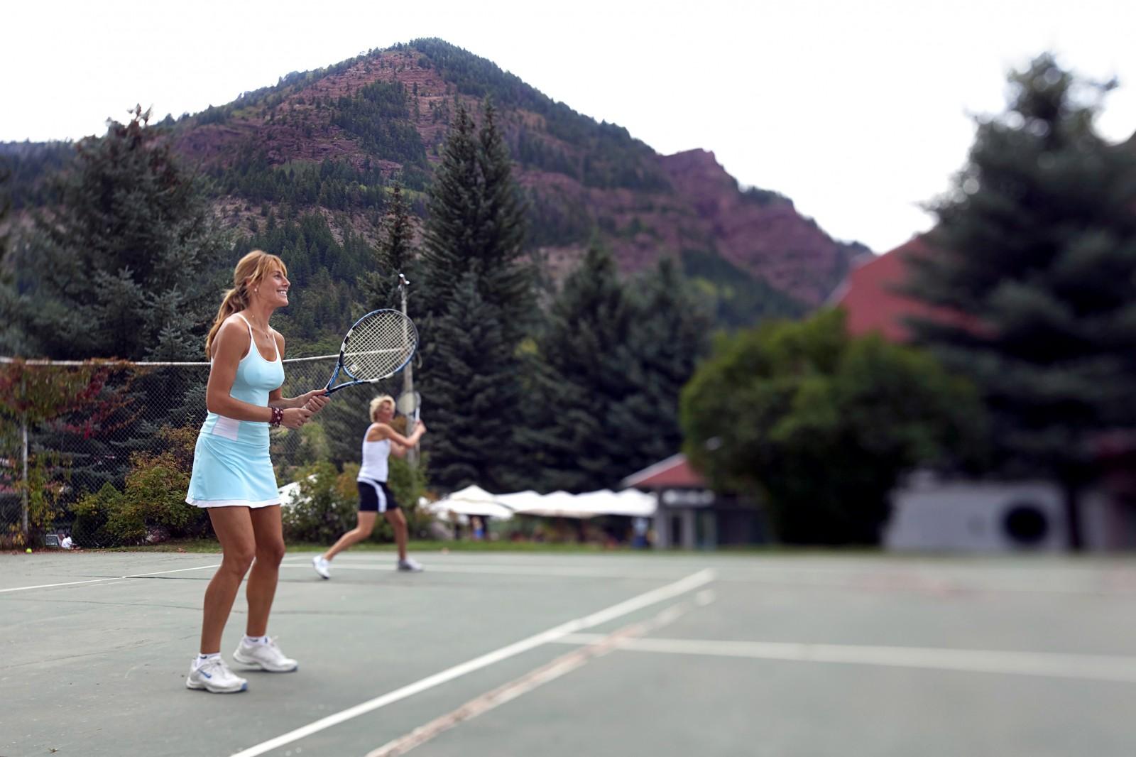 Tennis at The Redstone Inn