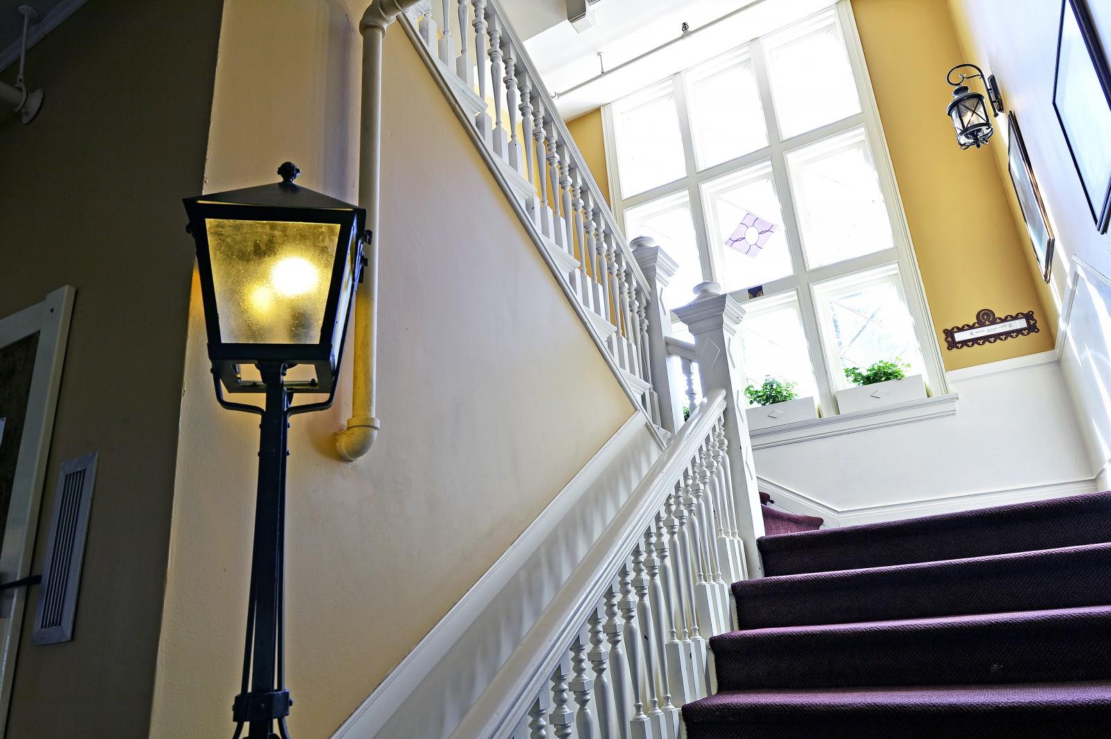 Redstone Inn Staircase