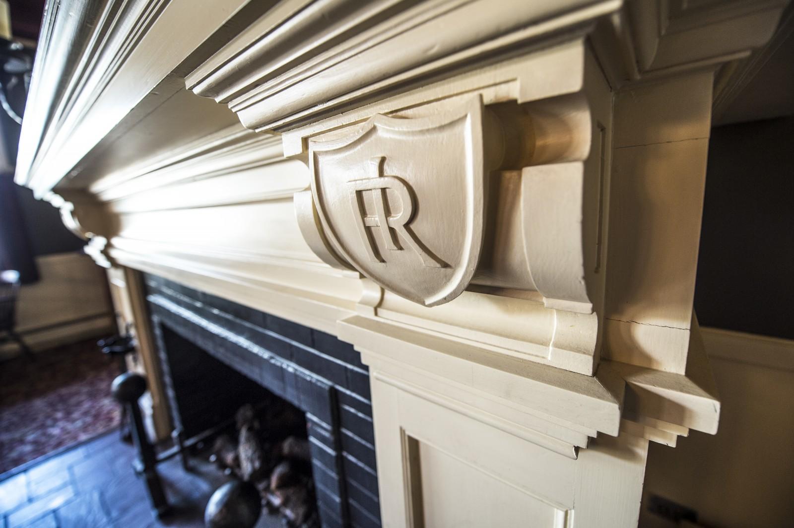 Hand Carved Fireplace, Redstone Inn, Colorado
