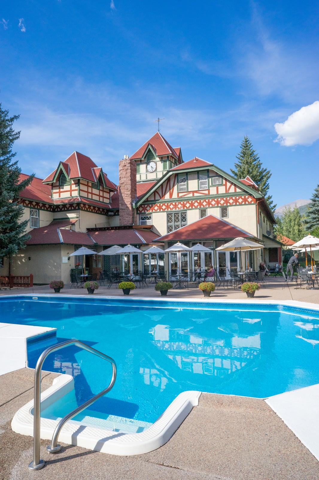 Redstone Inn Pool, Summer in Colorado
