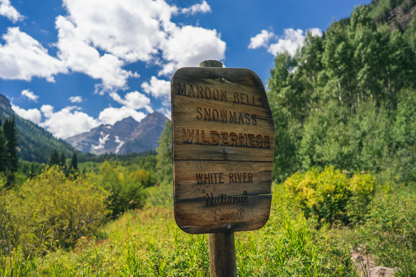 Snowmass Wilderness, White River, National Forest