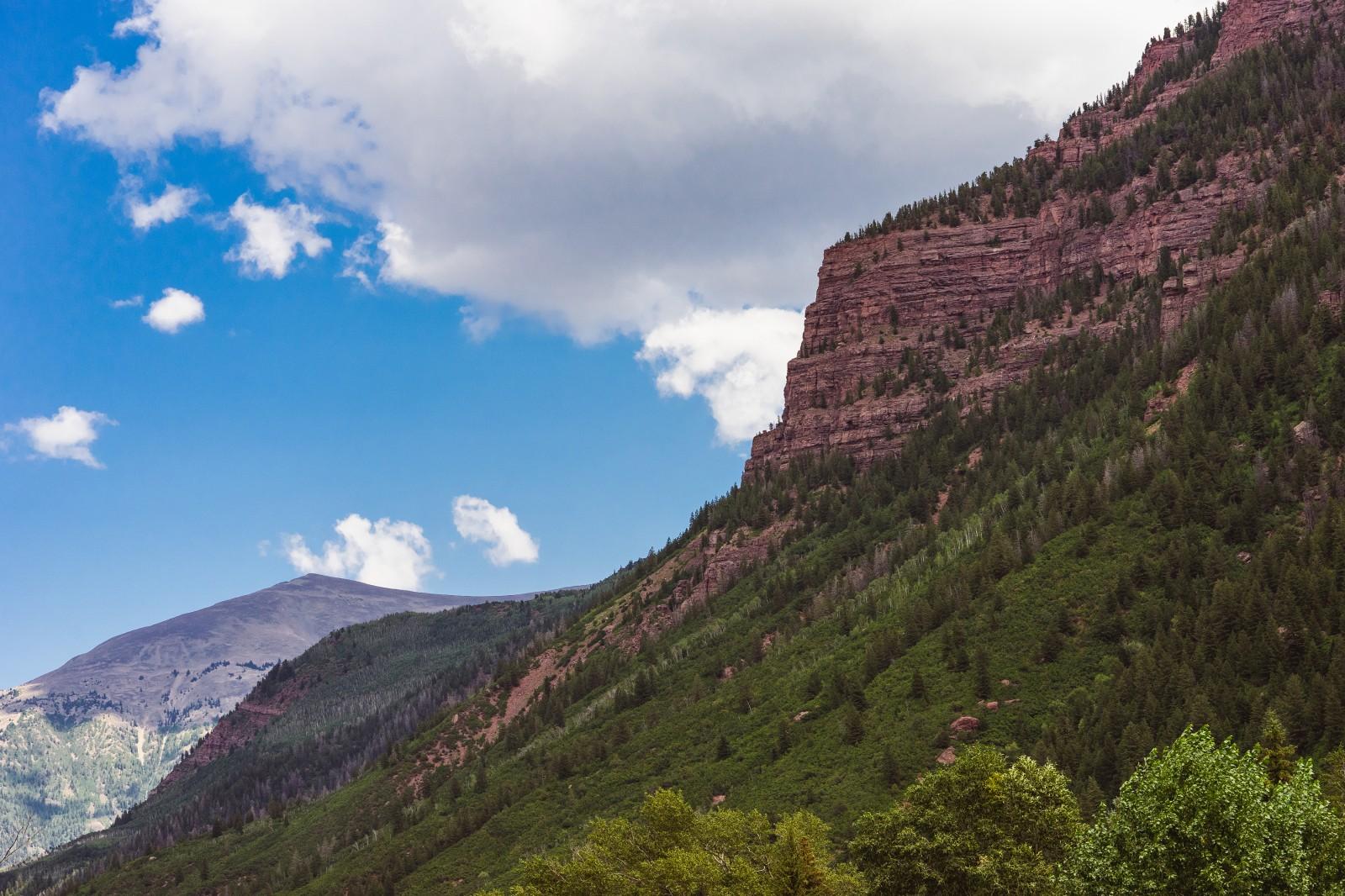 Red Rock Cliffs, Crystal Valley, Colorado